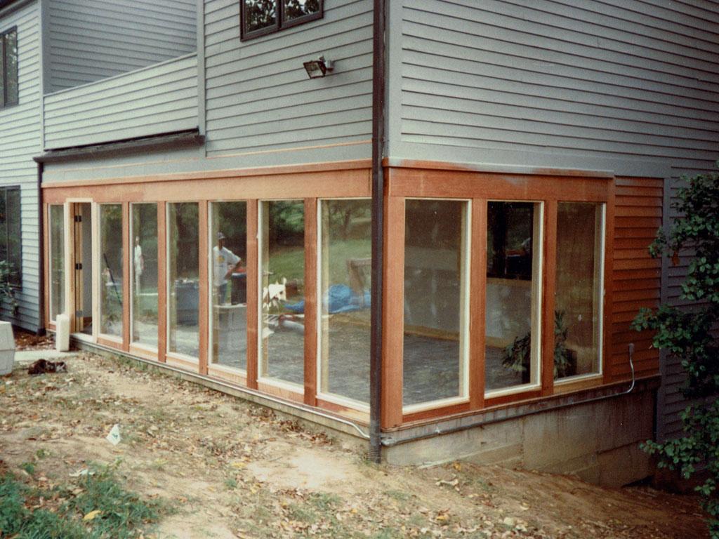 Screen Porch Conversion