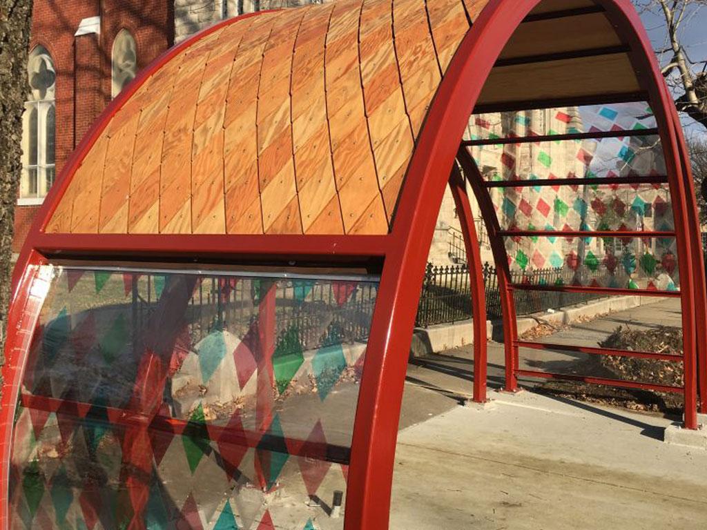 Public Artwork Bustop